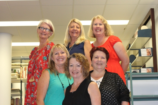 Left to right: Dr Ruth Reynolds, Debbie Bradbery, Dr Kate Ferguson-Patrick, Joanne Brown, Suzanne Macqueen, & Dr Debra Donnelly.