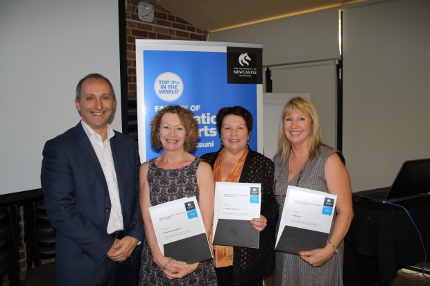 The GERT members were recently recognised for their exceptional contribution to education at the University of Newcastle, receiving the Dean of Education and Arts Award for Excellence in Teaching.